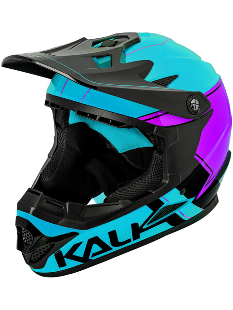 Kali Zoka - Casque de vélo Homme - violet/bleu